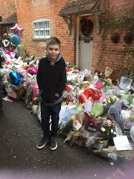 George Michaels Home File Teague Paying Respects At George Michael U0027s Home Jpg