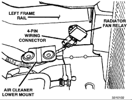 how to fix a radiator fans not turning on a dodge grand caravan