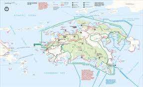 Map Of Caribbean Islands by Map Of St John Us Virgin Islands