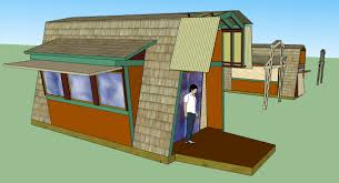 tiny house gambrel roof karen wee house hd wallpaper 692x459