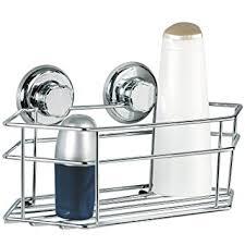 Suction Cup Bathroom Shelf Tatkraft Megalock Bath Shelf Shower Caddy Chrome Plated Steel
