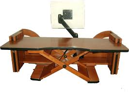 furniture good wooden standing desk converter ideas buying wood