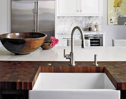 Wooden Kitchen Countertops Home Dzine Kitchen Solid Wood Countertops For Kitchens