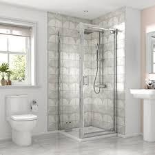 showers enclosures shower cubicles quadrant enclosure wickes