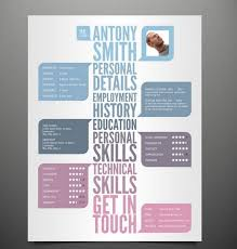 vibrant creative unique resume templates 13 21 stunning resume
