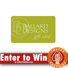 win a 7 000 ballard designs gift card julie u0027s freebies
