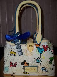 it u0027s a disney dooney and bourke purse cake disney every day