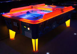 black light outdoor outdoor water proof air hockey tables