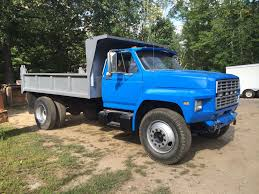 Ford F350 Dump Truck With Plow - beautiful 83 ford f 700 with 12 u0027 dump bed restored for use by a