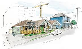 Row Home Design News by Buildings The Seattle Sketcher Seattle Times