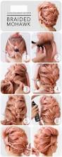 hairstyles step by step for medium length hair best 25 edgy updo ideas on pinterest punk braids rocker