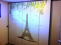 Eiffel Tower Decoration Real Parisian Decoration With Eiffel Tower Wall Decal U2014 Jen U0026 Joes