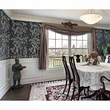 Chinoiserie Dining Room by Chinoiserie Chic Stencil Chinoiserie Wall Mural Stencils By