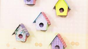 make adorable birdhouse wall decorations home guidecentral