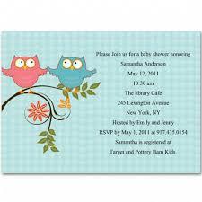 Owl Baby Shower Boy - theme owl baby twin boys shower invitations bs212