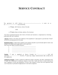 service contract template hashdoc