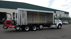 curtainside bodies u2013 trivan truck body