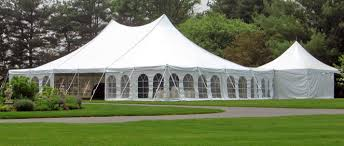 wedding tablecloth rentals wedding tents for rent high peak pole frame tents