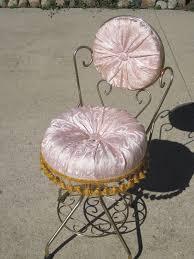 clever bunnies vintage vanity stool