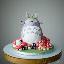 brielle u0027s totoro birthday cake scratch