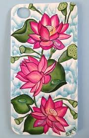 Flower Glass Design Lotus Flower Painting Designs Google Search The Study And