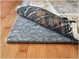Area Rug Pad For Hardwood Floor Rug Pad Hardwood Floor Attractive Designs Three Roses