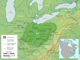 Map Of Northeast Ohio by Ohio Country Wikipedia