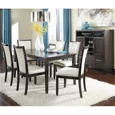 modern design ashley dining room table chic ideas trishelle dining