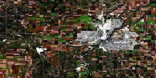Satellite View Map Saskatoon Sk Free Satellite Image Map 073b02 At 1 50 000