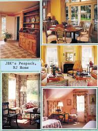 kennedy compound floor plan interior views of jackie u0027s peapack nj home kennedy family