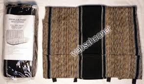 truck bench seat cover saddle blanket black 1pc all full size ford