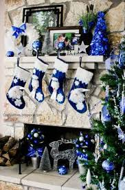Blue White And Silver Christmas Tree - 34 blue christmas tree decorations ideas blue christmas tree