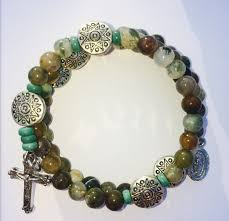 rosary bracelet rosary bracelet holy rosary bracelet