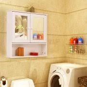 Mainstays Bathroom Wall Cabinet Storage Cabinets With Doors U0026 Shelf