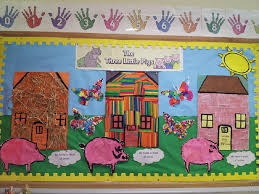 pigs classroom display photo sparklebox door