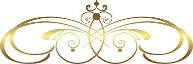 Home Design Gold Free Floral Png