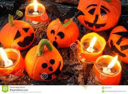 halloween background handmade pumpkin stock photo image 56255700