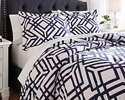Black And White Queen Bed Set Comforters Ashley Furniture Homestore