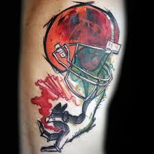 amazing football tattoos and ideas
