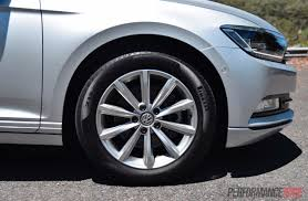 white volkswagen passat black rims 2016 volkswagen passat 132tsi review video performancedrive