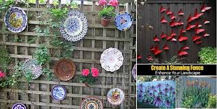 Backyard Fence Decorating Ideas Decorate Your Fence How To Ideas For Spicing Up The Backyard