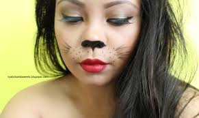 halloween kitty makeup images