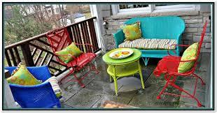 metal patio furniture paint colors home design ideas