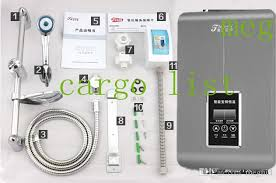 Bathroom Electric Heaters by 2017 378 Electric Shower Set Constant Temperature Electric Water