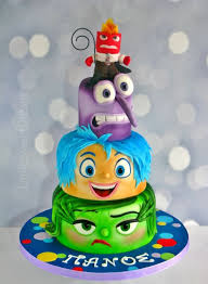inside out cakes inside out birthday cake cake by lenkasweetdreams cakesdecor