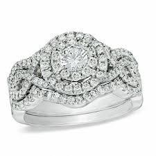 bridal set wedding rings bridal sets wedding gordon s jewelers