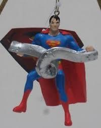superman bending steel dc comics ornament decoration