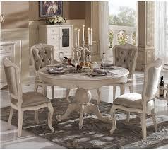 french white kitchen table white finger