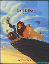 lion king sotheby u0027s auction book lionkingforlife deviantart