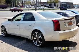cadillac cts styles 04 07 cadillac cts cts v sedan k style rear roof spoiler ebay